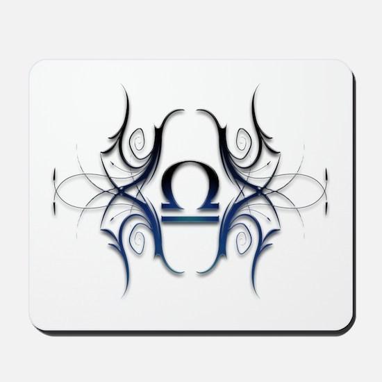 Libra Blue 1 Mousepad