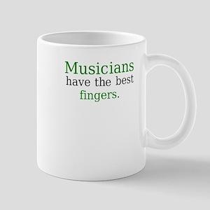 """Musicians have the best fingers"" Mug"