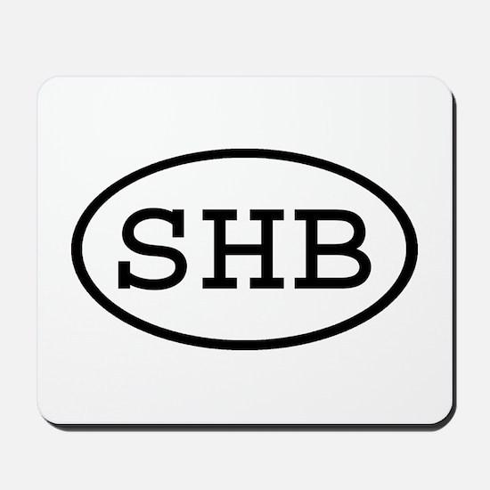 SHB Oval Mousepad