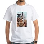 "Farmercon 100 Cover ""C"" White T-Shirt"