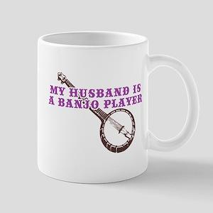 My Husband is a Banjo Player Mug
