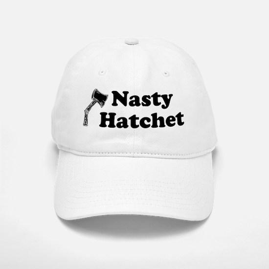 Nasty Hatchet Ax Baseball Baseball Cap
