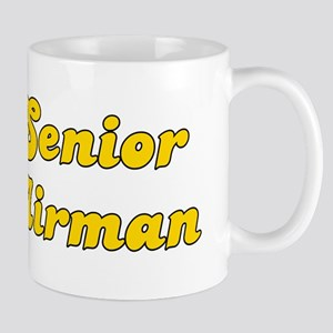 Retro Senior Airman (Gold) Mug