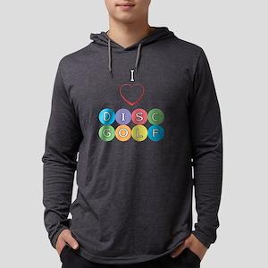 I Heart Disc Golf Long Sleeve T-Shirt