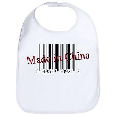 Made in China Bib