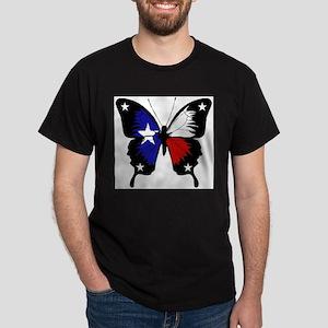 Texas Butterfly Dark T-Shirt