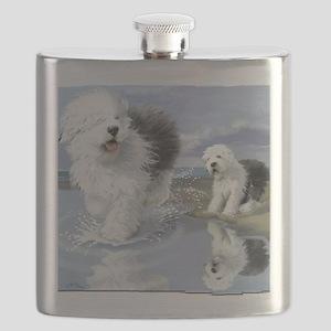 Old English Sheepdo... Flask