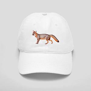 Gray Fox Animal Lover Cap