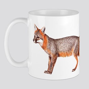 Gray Fox Animal Lover Mug