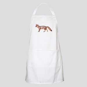 Gray Fox Animal Lover BBQ Apron