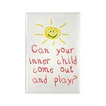 Inner Child Rectangle Magnet (100 pack)
