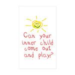 Inner Child Sticker (Rectangle 50 pk)