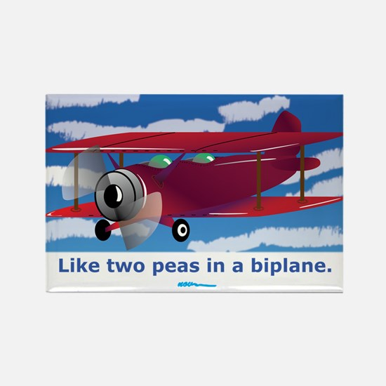 in a Biplane Rectangle Magnet