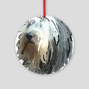 shaggy dog story Ornament (Round)
