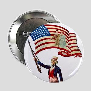 """Uncle Sam #4 2.25"""" Button"""