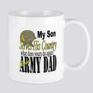 Army Son Serves Mug