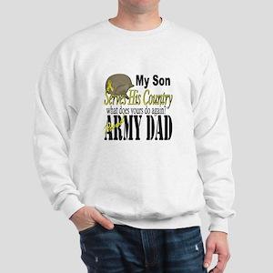 Army Son Serves Sweatshirt