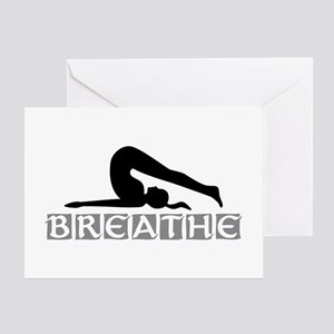 Yoga Breathe Greeting Card