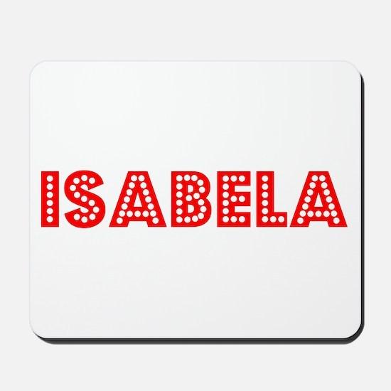 Retro Isabela (Red) Mousepad