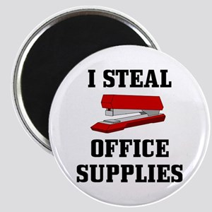 I Steal Office Supplies : Magnet