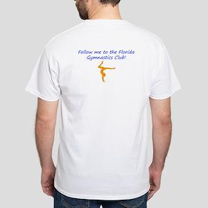 Florida Gymnastics White T-Shirt