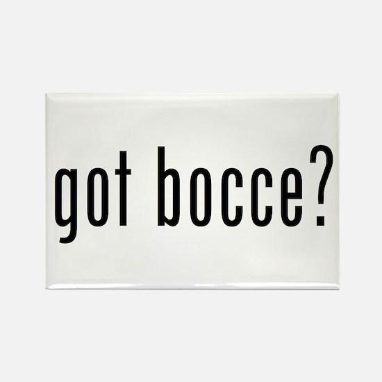 got bocce? Rectangle Magnet