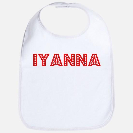 Retro Iyanna (Red) Bib