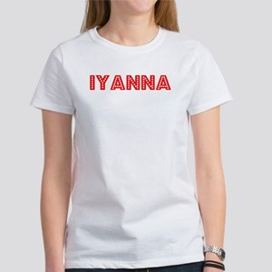 Retro Iyanna (Red) Women's T-Shirt
