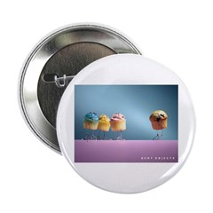 """Cupcakes and Muffins 2.25"""" Button"""