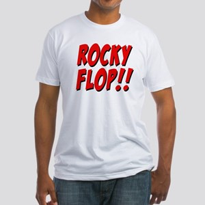 Rocky Flop! Fitted T-Shirt