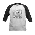 Can You Hear Me Now Kids Baseball Jersey