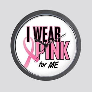 I Wear Pink For ME 10 Wall Clock