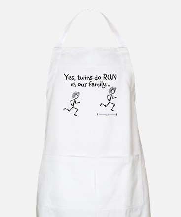 Yes, Twins do RUN in the Fami BBQ Apron