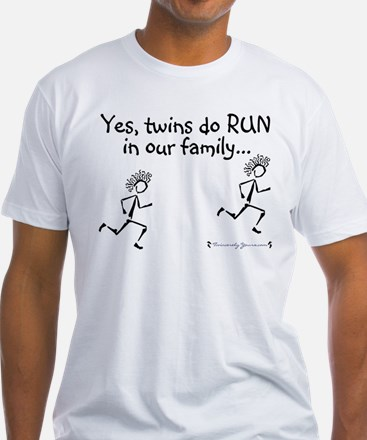 Yes, Twins do RUN in the Fami Shirt
