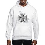 North Woods Ssledders - Snowm Hooded Sweatshirt