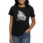 North Woods Ssledders - Snowm Women's Dark T-Shirt