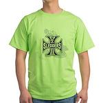 North Woods Ssledders - Snowm Green T-Shirt