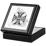 North Woods Ssledders - Snowm Keepsake Box