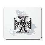 North Woods Ssledders - Snowm Mousepad