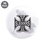 "North Woods Ssledders - Snowm 3.5"" Button (10"