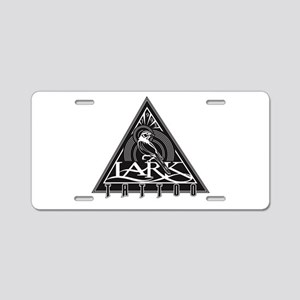 Lark Tattoo - design 5 Aluminum License Plate