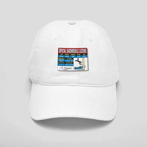 Snowmobile License tee Cap