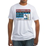 Snowmobile License tee Fitted T-Shirt