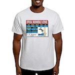 Snowmobile License tee Light T-Shirt