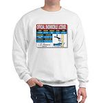 Snowmobile License tee Sweatshirt