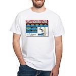 Snowmobile License tee White T-Shirt