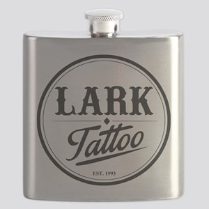 Lark Tattoo - design 7 Flask