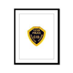 Tucson CID Framed Panel Print