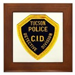 Tucson CID Framed Tile