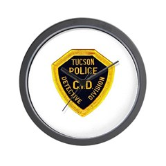 Tucson CID Wall Clock